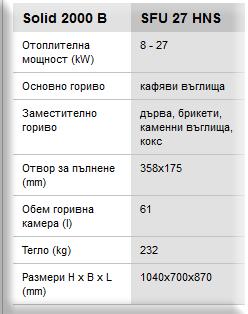 BOSCH Solid 2000 B 27kW.